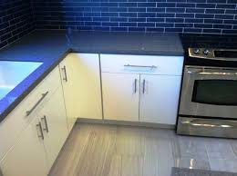 Full Overlay Kitchen Cabinets White Painted Slab Modern Kitchen Cabinets