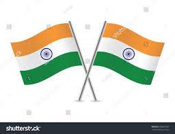 Irish Flag Vs Italian Flag Indian Flags Vector Illustration Stock Vector 238031983 Shutterstock