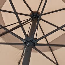 13 Patio Umbrella Apontus 13 Foot Market Patio Umbrella Outdoor Furniture Aluminum