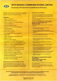 mtn nigeria communications limited u2013 invitation to pre