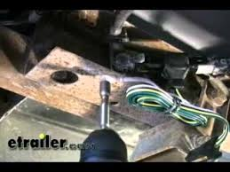 Blazer Trailer Lights Trailer Wiring Harness Installation 1993 Chevrolet S 10 Pickup