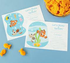 finding nemo baby shower invitations disney baby