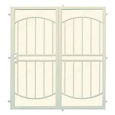 Patio Door Security Gate For Residential Applications Security Doors Exterior Doors The Home Depot