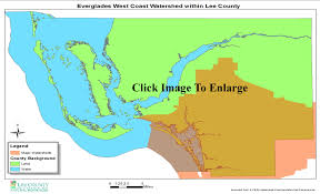 Florida Everglades Map by Everglades West Coast Estero Bay Watershed