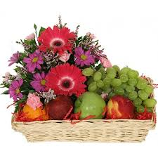fruit and flowers fruit and flowers basket