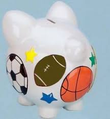 sports themed piggy banks kids sport banks sport banks baseball banks for that occasion