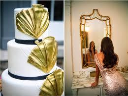 Art Deco Wedding Art Deco Wedding Inspiration Belle The Magazine