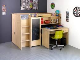 lit enfant avec bureau les combinaisons de lit enfant avec bureau chambre enfant originale