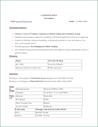 simple resume format 9 simple resume format in ms word applicationsformat info