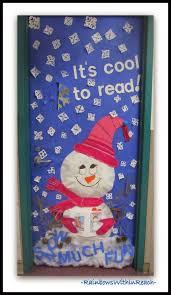 20 Good View Classroom Winter Door