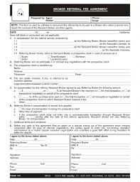 California General Power Of Attorney Form by A Broker To Broker Written Referral Fee Agreement First Tuesday