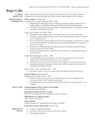 Sample Resume For Customer Service by Ramp Agent Sample Resume Reading Specialist Sample Resume
