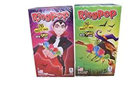 ring pop boxes ring pop variety pack 4 assorted flavors with 2 new
