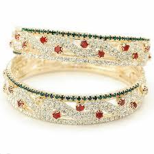 multi color stone bracelet images Multi color stone bangles rangeen nageenon ki choodiyan babu jpg