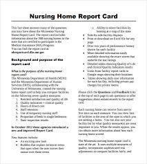 nursing report sample 7 documents in pdf