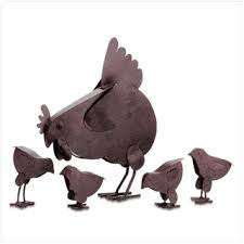 metal chicken yard from koehlerhomedecor adorable hen and