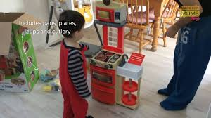 Play Kitchen Red Little Tikes Cook U0027n Store Kitchen Toy Review Youtube