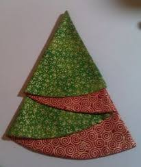 christmas tree napkin use a compass to draw an 18