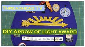 arrow of light award images diy arrow of light award cub scout webelos youtube