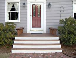 Wooden Front Stairs Design Ideas Extremely Front Step Ideas Best Wooden Stairs Design About Porch