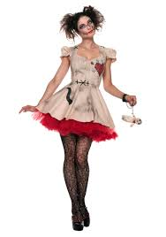 women costumes women s plus size voodoo doll costume