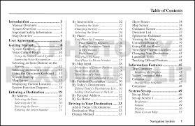 2004 honda accord navigation system owners manual original