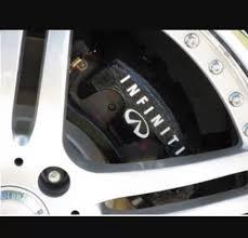 infiniti brake caliper high temp vinyl decal stickers any color