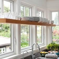 kitchen window shelf ideas shelf in front of window design ideas