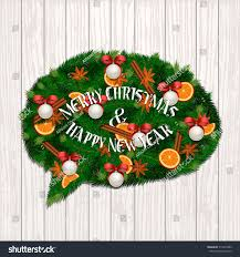 merry christmas modern merry christmas happy new year concept stock vector 514973089