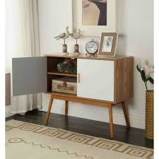 mid century storage cabinet mid century modern console table storage cabinet with solid wood