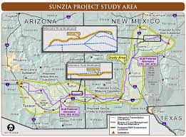Map Of New Mexico And Arizona by Groups Raise Concerns Over New Mexico To Arizona Power Line