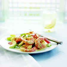 cooked shrimp and celery salad south beach diet healthy recipes