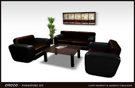 second life marketplace modern office home living room