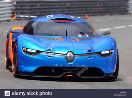 renault alpine concept the new renault alpine a110 50 concept car is seen at the f1 race
