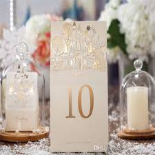 Wholesale Wedding Decorations 2016 European Church Creative Beige Sign In Table Place Cards