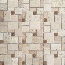 indoor outdoor travertine tile tile the home depot