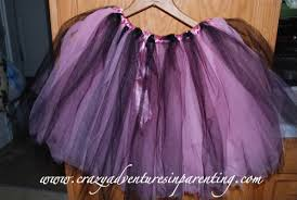 how to make an easy tutu crazy adventures in parenting