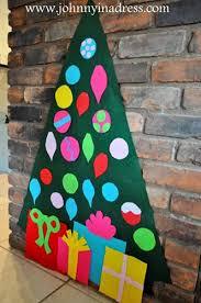 diy christmas trees u2013 felt christmas tree