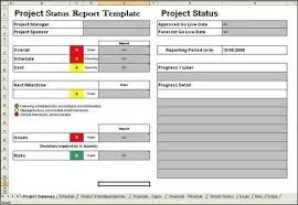 Project Reporting Template Excel Project Report Template Word Nfgaccountability Com