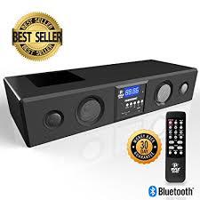 vizio sound bar flashing lights amazon com pyle sound bar bluetooth soundbar 3d surround sound