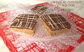 gateau cuisine carrés au chocolat et aux noix gateau marocain amour de cuisine