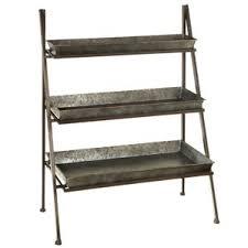 Iron Folding Bookcase 3 Tier Folding Bookcase Wayfair
