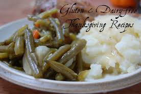 recipes for a gluten and dairy free thanksgiving
