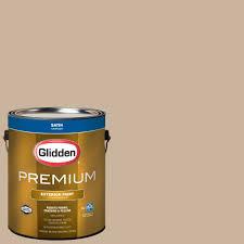 glidden premium 1 gal hdgwn33u traditional tan satin latex