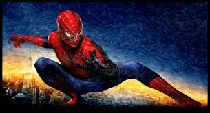 coloring outstanding spider man painting coloring