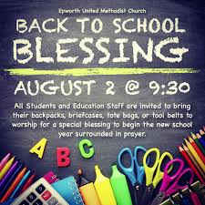 back to school blessing ideas milestones ministry