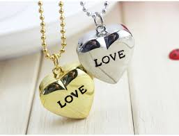 key love necklace images Charming cute beautiful love heart shaped key chain fashion jpg