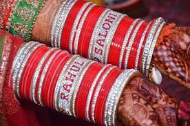 wedding chura bridal chura bridal chura with name bangles shahi handicraft
