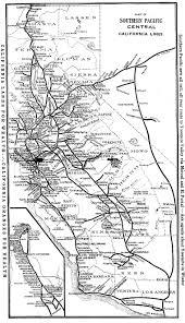 Union Pacific Route Map by Santa Cruz Trains Railroads Of The Monterey Bay Railroads