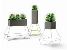 modern outdoor planters with fresh designs